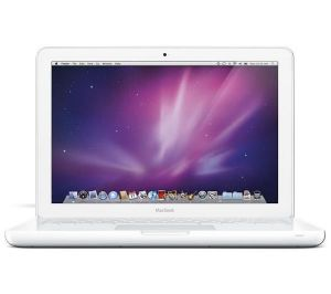 "Refurbished White Apple MacBook - 13.3"" - Core 2 Duo 2.4 GHz - 2 GB Ram MC516B/A"